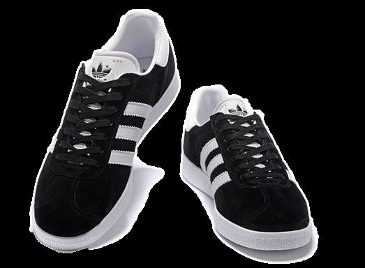 Фото Adidas Gazelle Черные - 1
