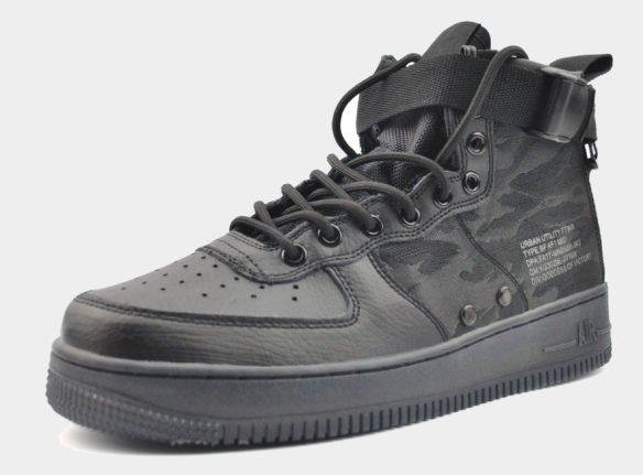 Nike SF Air Force 1 Mid хаки
