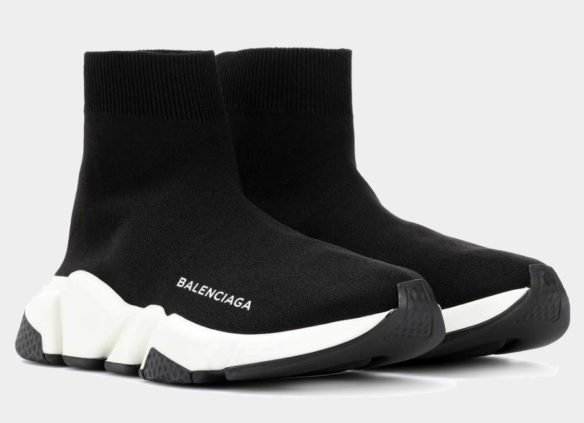 Фото Balenciaga Speed Trainer черные - 3