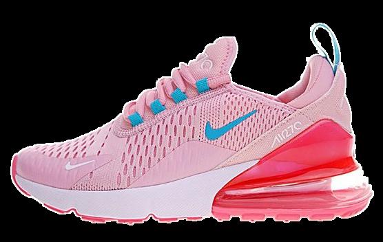 Фото Nike Air Max 270 Розовые с Голубым - 1